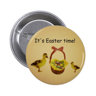 It's Easter time! Button