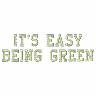 It's Easy Being Green