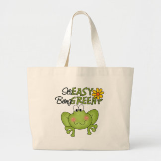 It's Easy Being Green Tote Bag