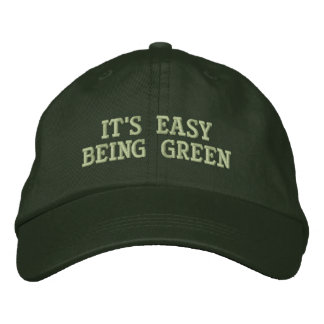 It's Easy Embroidered Hat