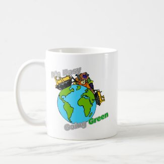 It's Easy Going Green Clean the Planet mug