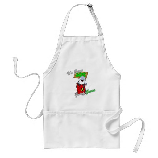 It's Easy Going Green Clean Water 2 Aprons