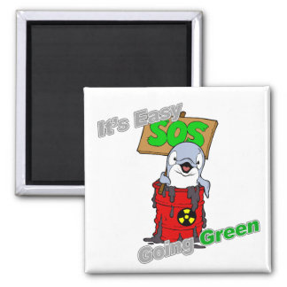 It's Easy Going Green Clean Water Magnet