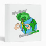 It's Easy Going Green Remember the trees 3 Ring Binder
