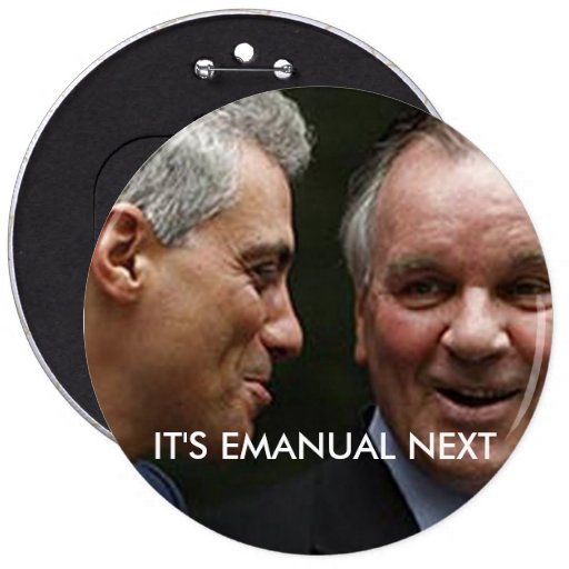 IT'S EMANUAL NEXT 6 INCH ROUND BUTTON