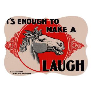 It's enough to make a Laugh Card
