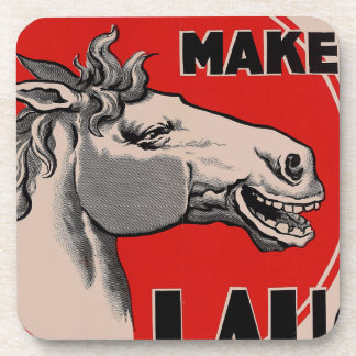 It's enough to make a Laugh Coaster