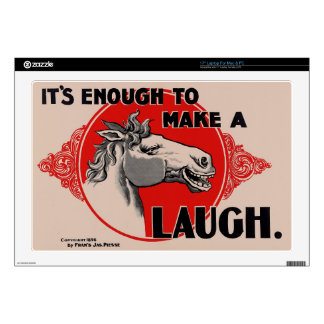 It's enough to make a Laugh Decals For Laptops