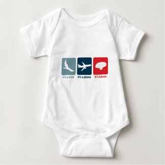 It's Falcon (the Balloon Boy)! Baby Bodysuit