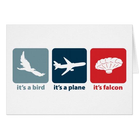 It's Falcon (the Balloon Boy)! Card