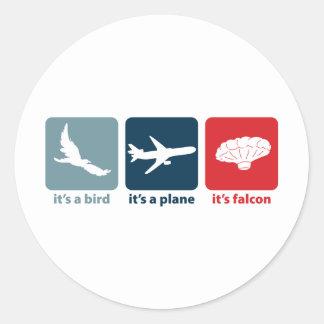 It's Falcon (the Balloon Boy)! Classic Round Sticker