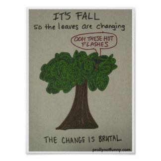 it's fall poster