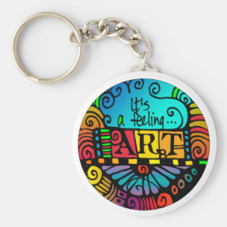 It's feeling ... ART! Keychain for the Artist