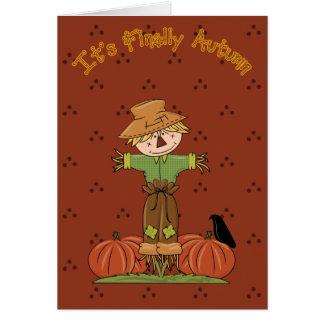 Its Finally Autumn 2 Card