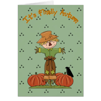 Its Finally Autumn 3 Card