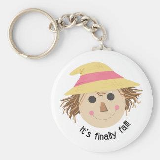 Its Finally Fall Keychain