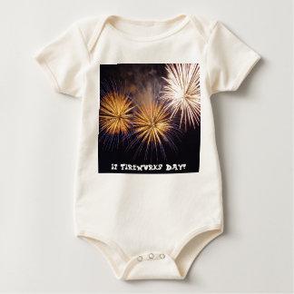 It's Fireworks Day! Baby Bodysuit