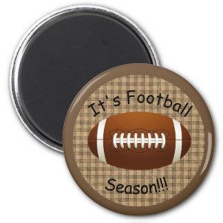It's Football Season  Magnet