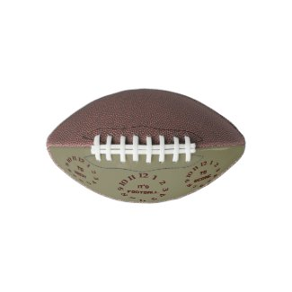 It's Football Time Ball