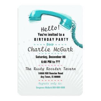 It's for You! Birthday Party Invitation