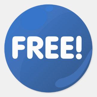 It's Free! Sticker