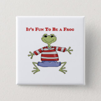 It's Fun to be a Frog Button