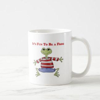 It's Fun to be a Frog Coffee Mug