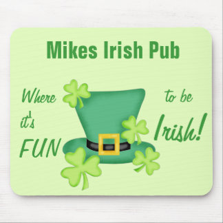 Its Fun to Be Irish St. Patrick's Day Mouse Pad