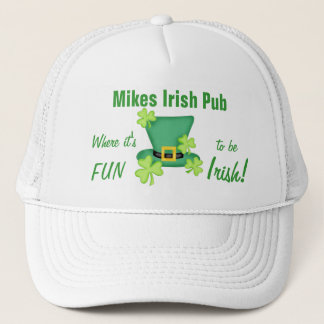 Its Fun to Be Irish St. Patrick's Day Trucker Hat