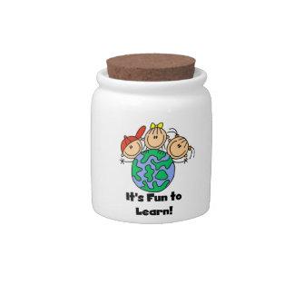 It's Fun to Learn Candy Jar
