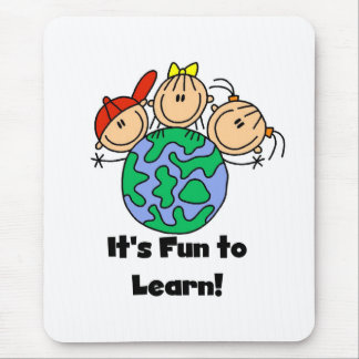 It's Fun to Learn Mouse Pad
