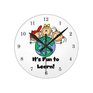 It's Fun to Learn Round Clock
