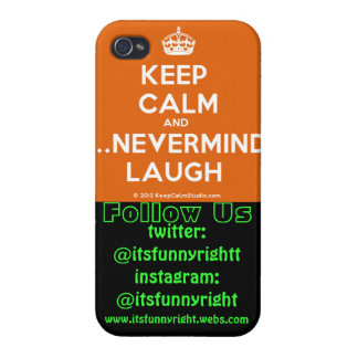 its_funny_right custom iphone 4/4s case