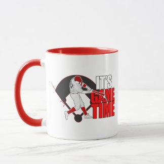 It's Game Time - Baseball (Red) Mug