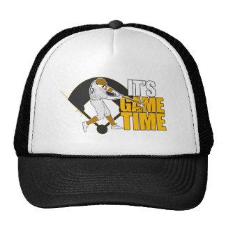 It's Game Time - Baseball (Yellow) Trucker Hat