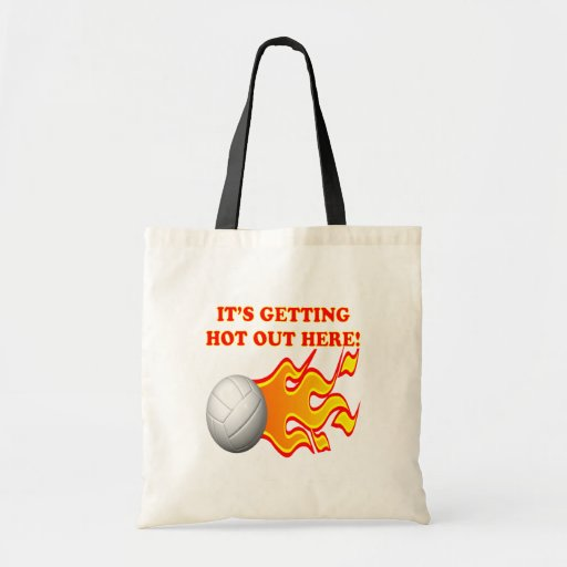 Its Getting Hot Out Here Budget Tote Bag
