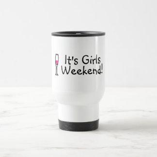 Its Girls Weekend Wine Travel Mug