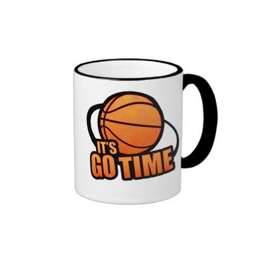 Its Go Time Basketball Mug