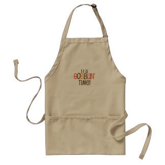 It's Gobblin Time Adult Apron
