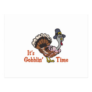 ITS GOBBLIN TIME POSTCARD
