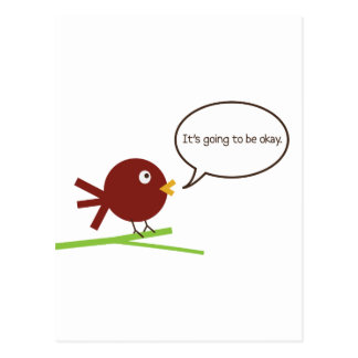 It's Going to Be Okay Postcard