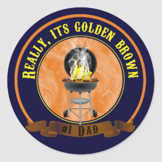 Its Golden Brown, Father's Day Sticker