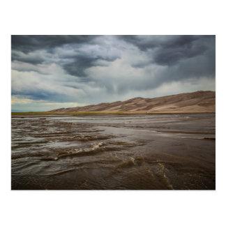 It's Gonna Rain on the Great Sand Dunes Natl Park Postcard