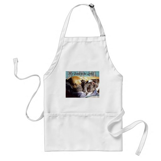 It's Good to be Loved Aprons