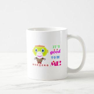Its good to be me-Cute Monkey-Morocko Coffee Mug