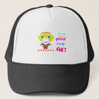 Its good to be me-Cute Monkey-Morocko Trucker Hat