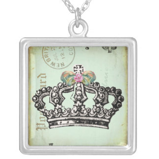 it's GooD To Be QUeeN Silver Plated Necklace