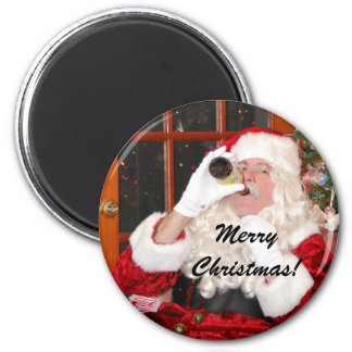 It's Good To Be Santa! 2 Inch Round Magnet