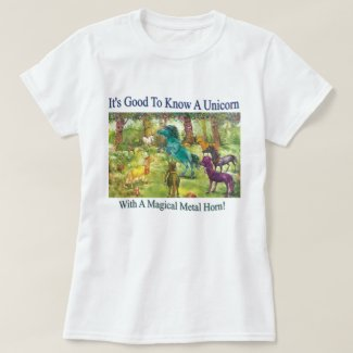 It's Good To Know A Unicorn T-Shirt