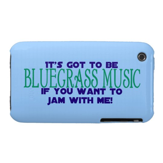 It's Got to Be Bluegrass... iPhone 3 Case-Mate Case